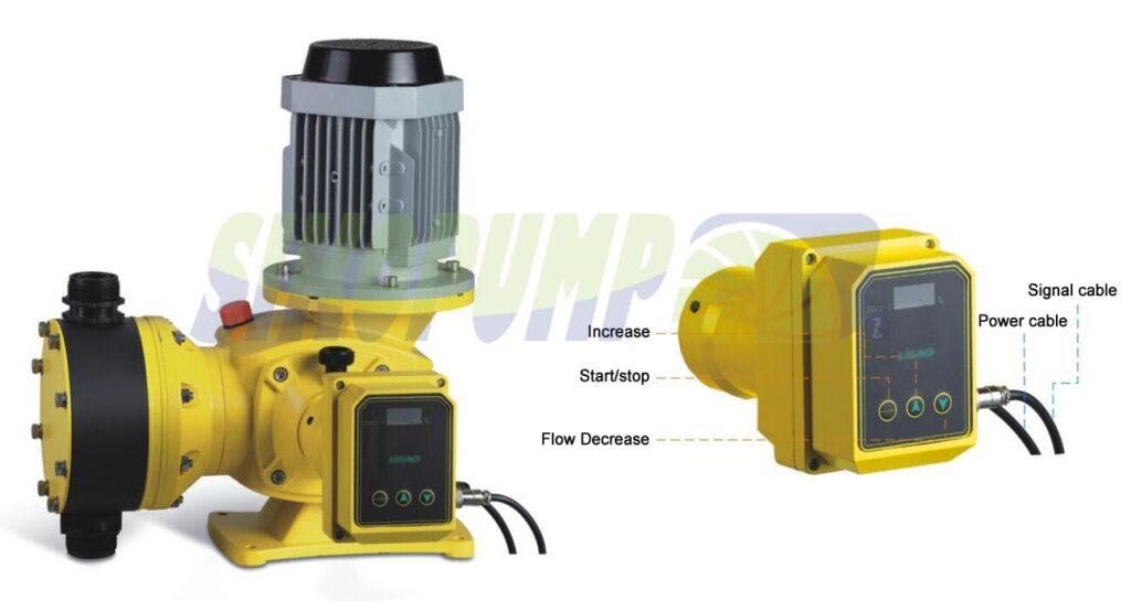 metering pump stroke controller