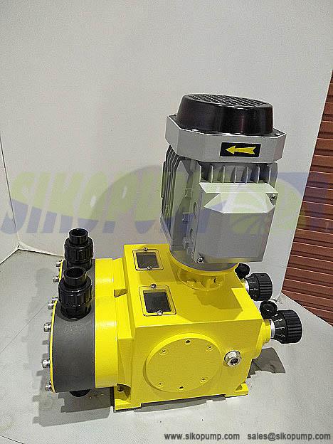 2DX diaphragm metering pump pic1