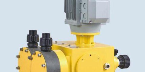2DX double head diaphragm metering pump