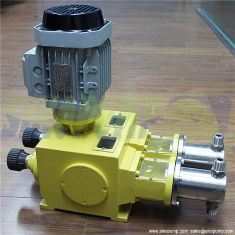 2PX duplex head piston metering pump 1