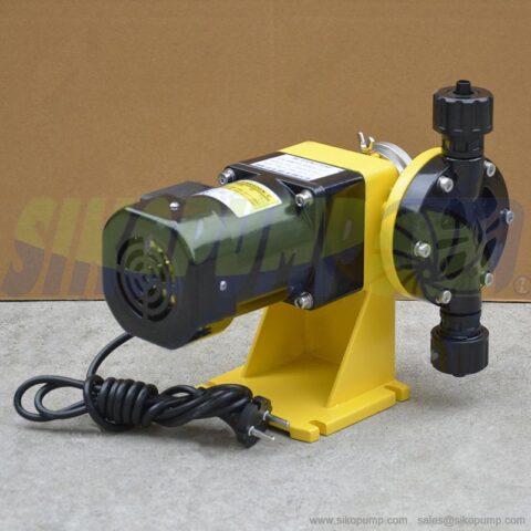 DJ diaphragm metering pump PVC material