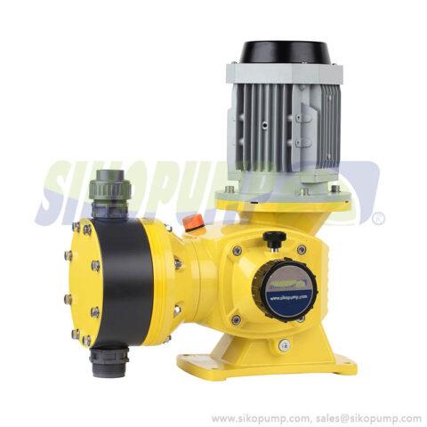 DM diaphragm metering pump PVC material