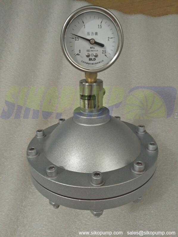 Diaphragm Pulsation Damper in carbon steel