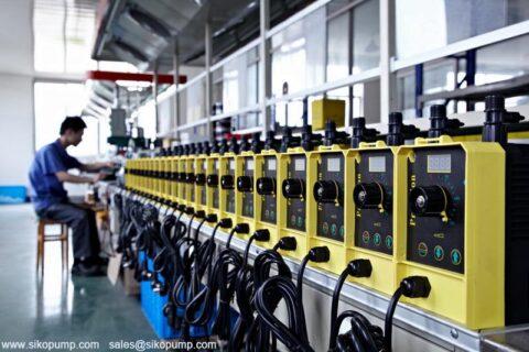 EM solenoid driven dosing pump
