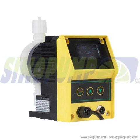 ES remote solenoid metering pump PVDF material