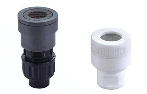 bottom valve with strainer