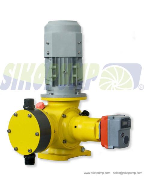 metering pump capacity controller china