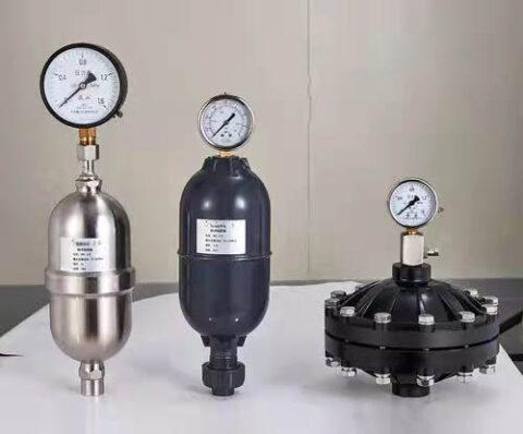 metering pump pulse damper