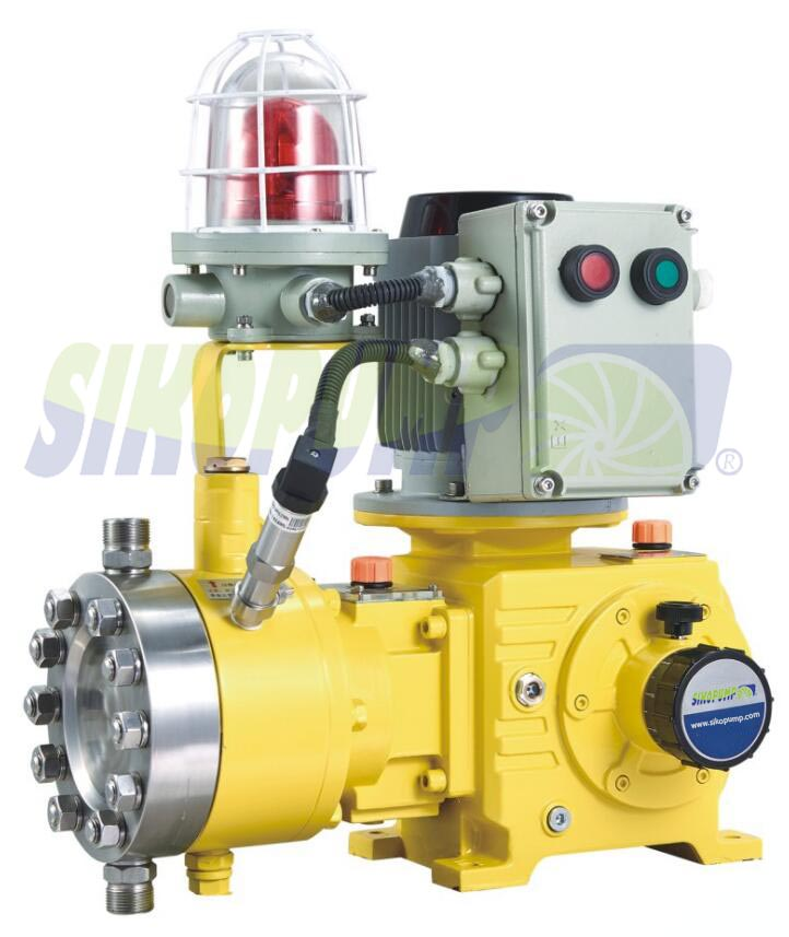 metering pump rupture detecting system