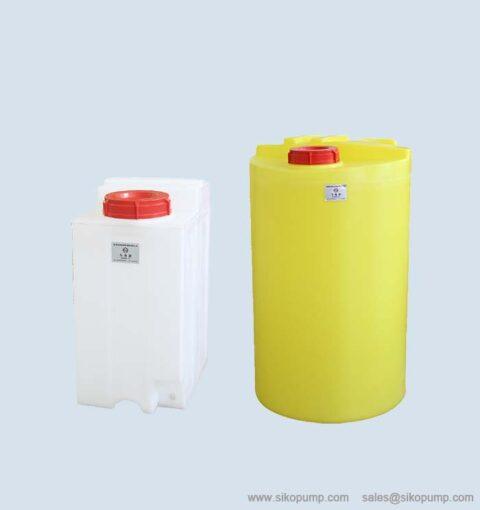 metering pump tank