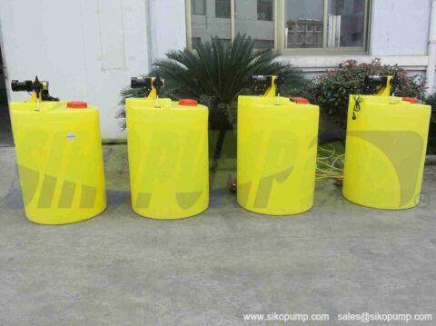 metering pump tank china