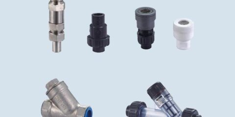 metering pump valves and fitters